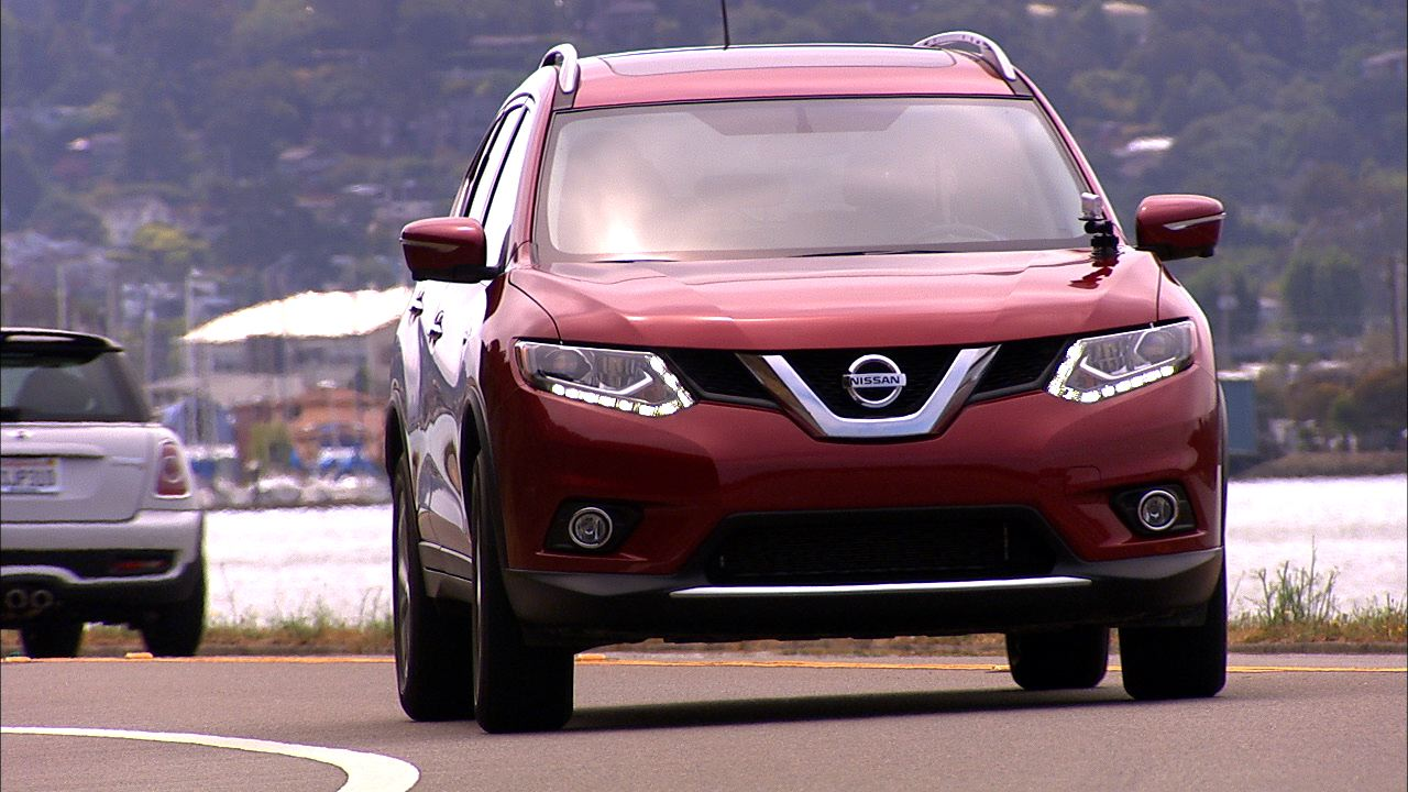 2014 nissan rogue sl awd video cnet. Black Bedroom Furniture Sets. Home Design Ideas