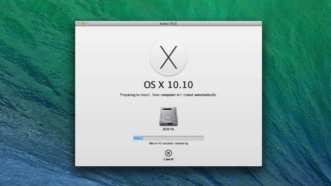 Video: Partition your hard drive to install the OS X Yosemite Beta