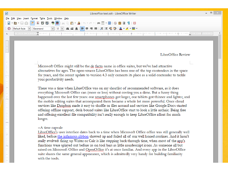 LibreOffice 4.3