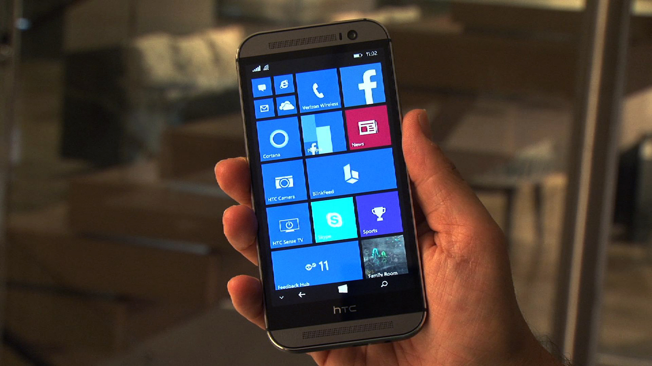 Video: HTC One M8 gets the Windows Phone treatment