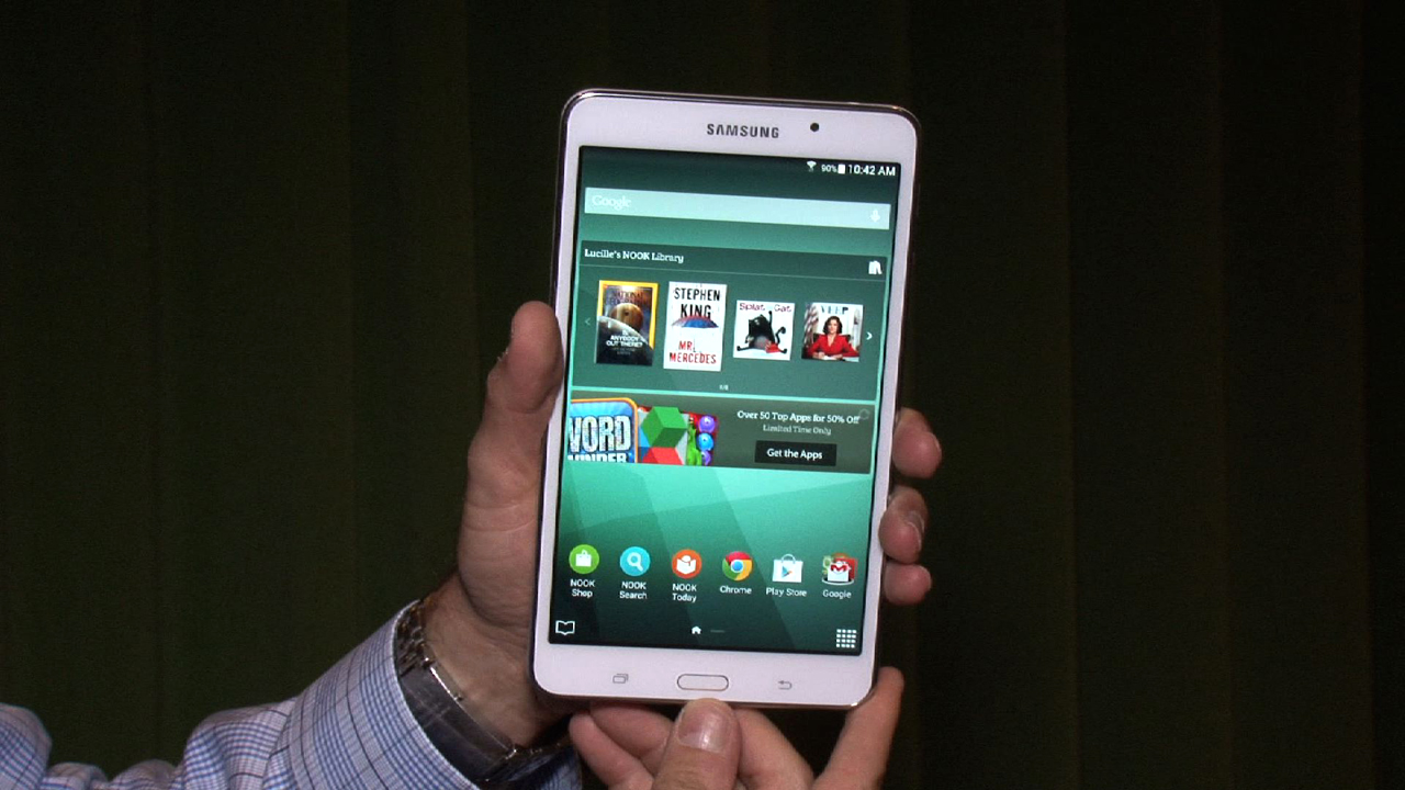 Video: Galaxy Tab 4 Nook: Hands-on with B&N's take on Samsung's reading tablet