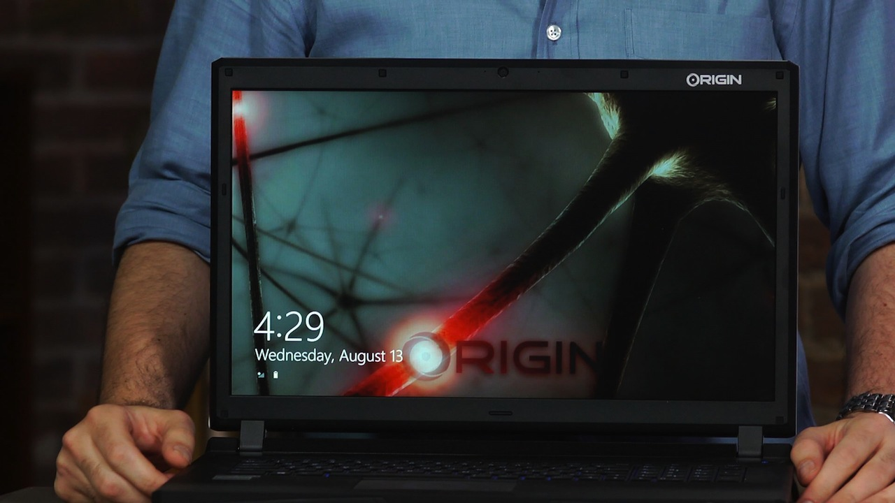 Video: Origin PC EON17-S (2014): A massive gaming laptop selling support and speed