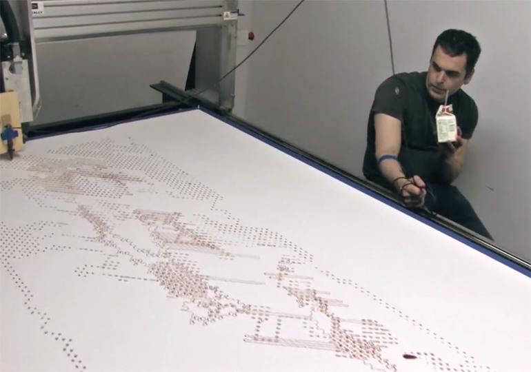 Video: Tomorrow Daily 042: Robot uses human blood to make art, all hail BabyX, and more