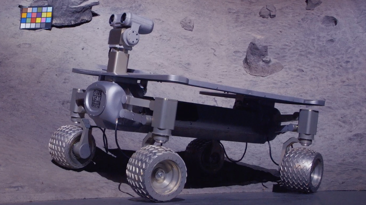 Video: Team Part-Time Scientists take their Google Lunar XPrize rover for a spin