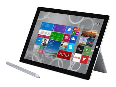"Microsoft Surface Pro 3 - 12"" - Core i7 4650U - Windows 8.1 Pro - 8 GB RAM - 256 GB SSD"
