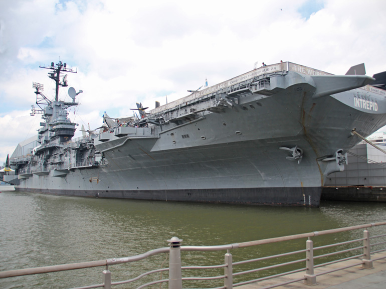 A tour of the Intrepid Sea,