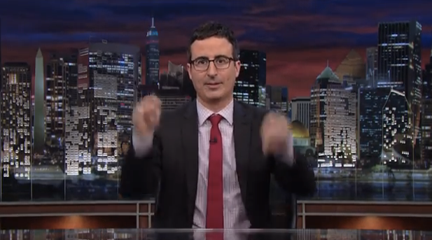 John Oliver turns to YouTube