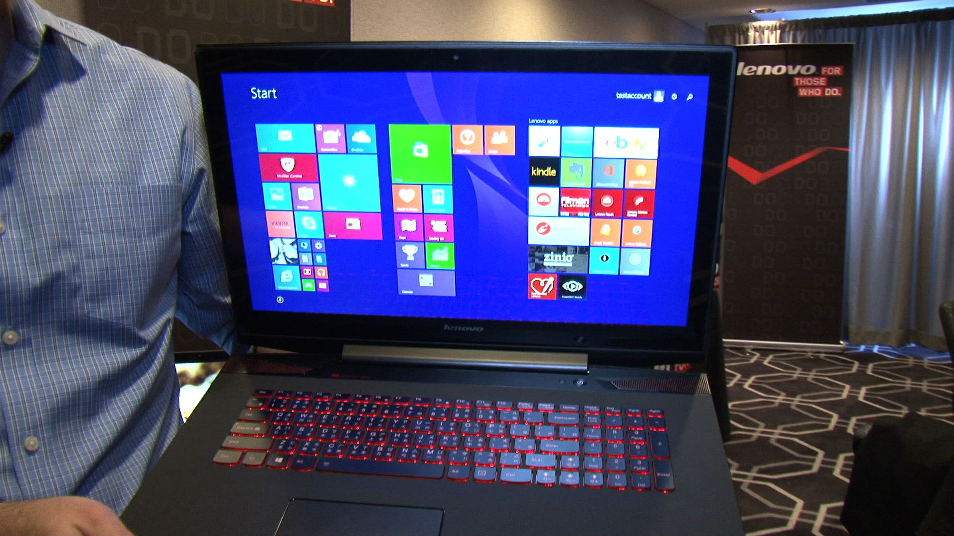 Video: Hands-on with the Lenovo Y70 Touch