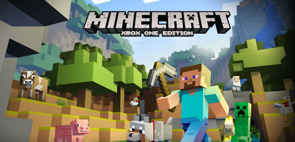 Minecraft is landing on the Xbox One.
