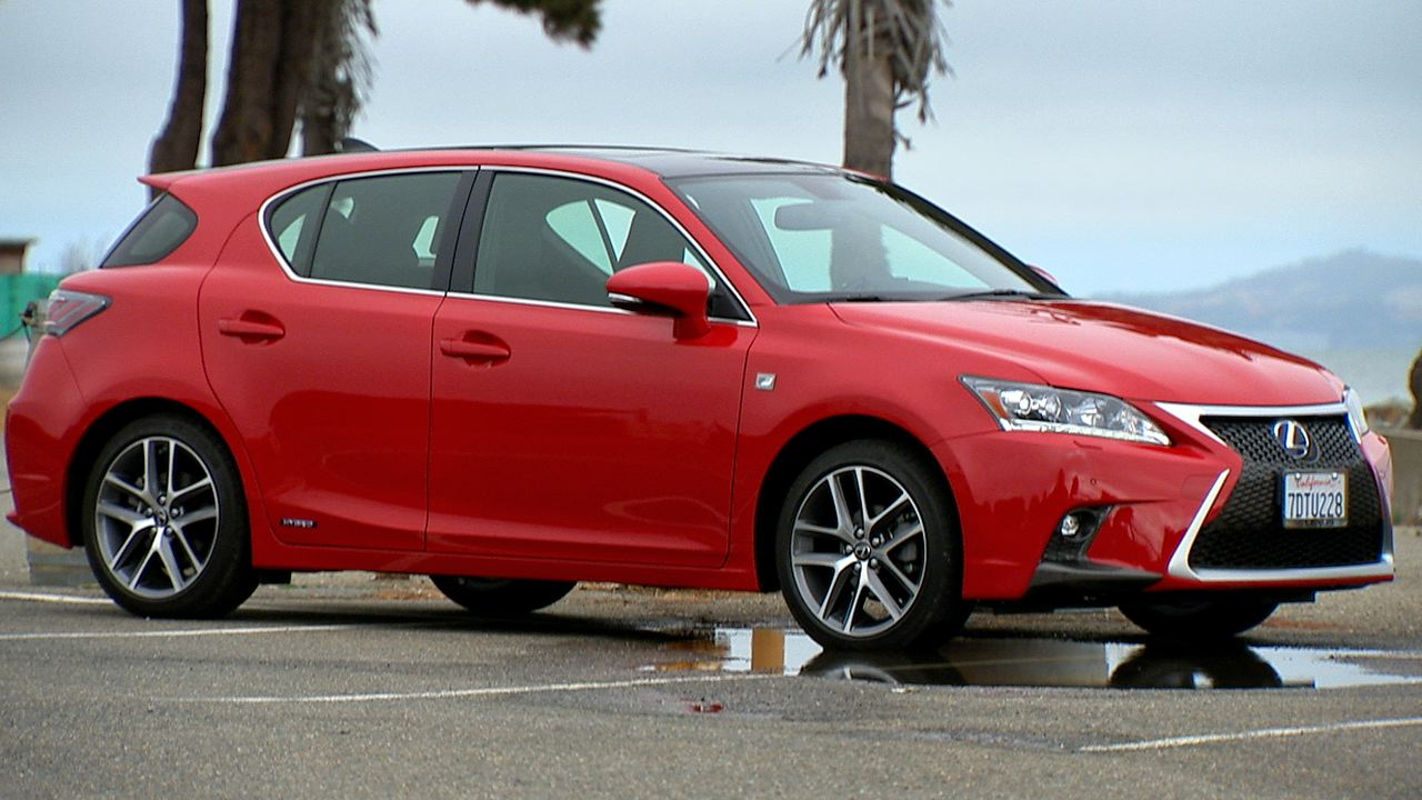 Video: 2014 Lexus CT 200h F Sport