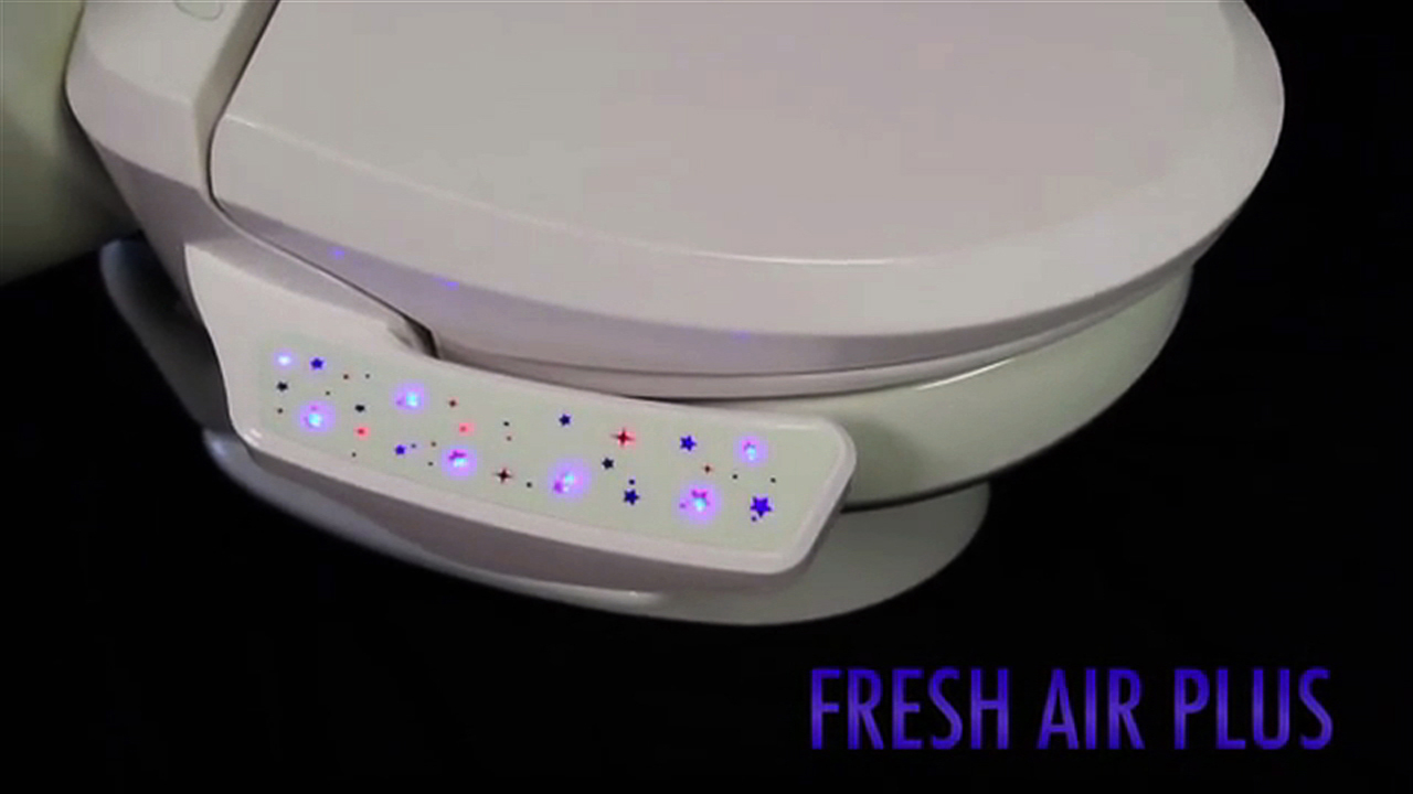 Video: Smart toilet seat bids bye-bye to bad smells, Ep. 173