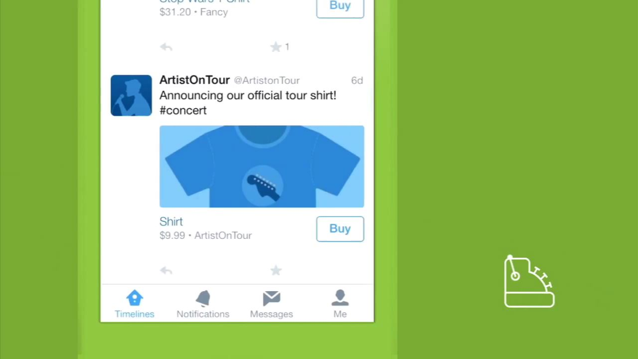Video: Shop inside a tweet with Twitter's 'Buy'