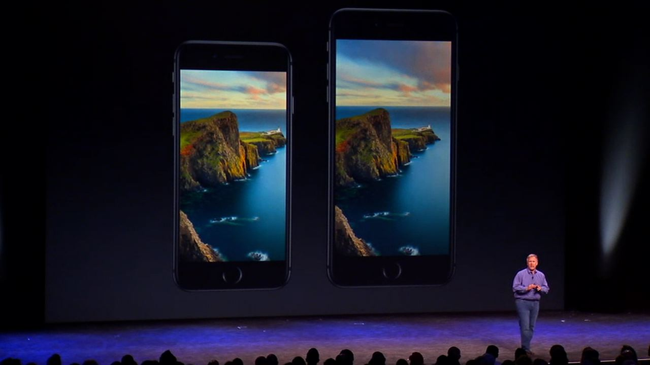 Video: iPhone 6 and 6 Plus boast larger, sharper displays
