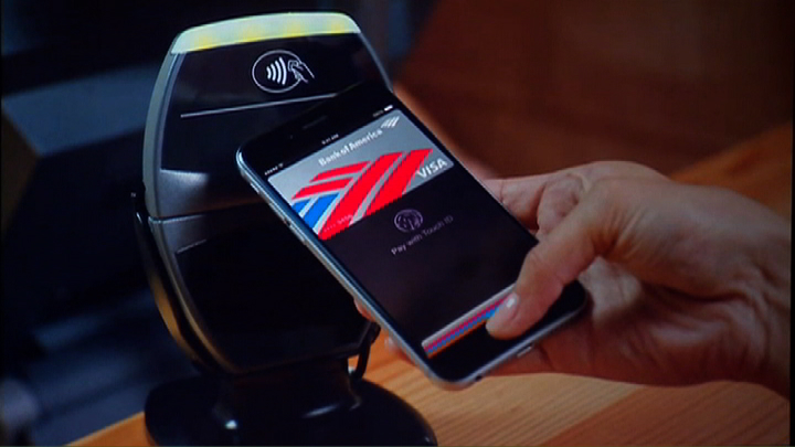 Video: Apple turns iPhone 6 into mobile wallet with Apple Pay