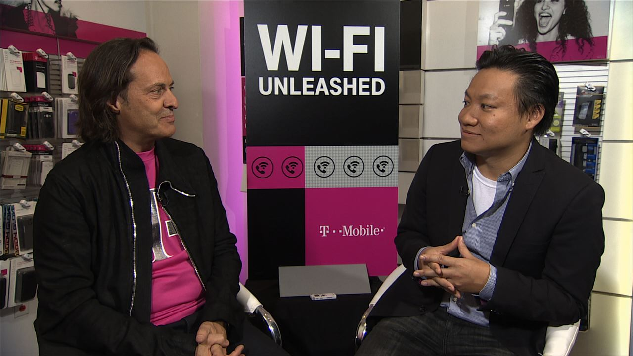 Video: T-Mobile CEO accuses rivals of 'trickery' over iPhone deals