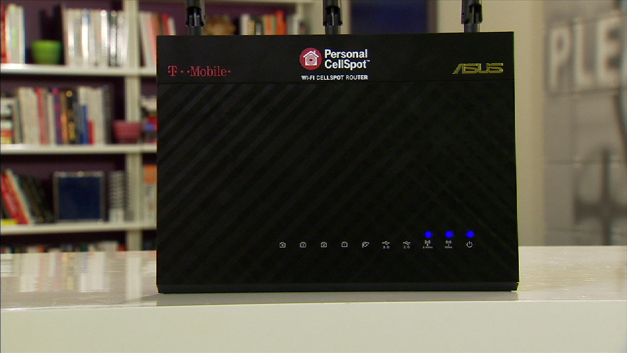 Video: The T-Mobile CellSpot is an award-winning Asus router in disguise