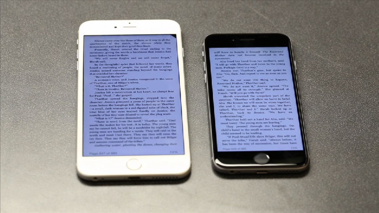 Video: Apple 6 vs. Apple 6 Plus