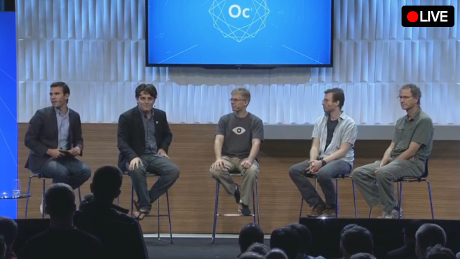Touch, hear, pal around in a virtual world: Oculus execs discuss the future