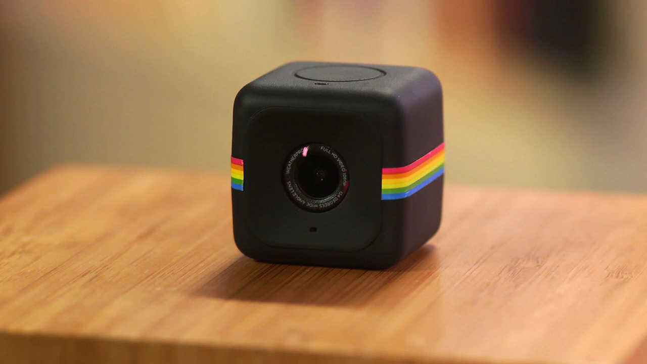 Video: Polaroid takes tiny cameras to a new level with the Cube