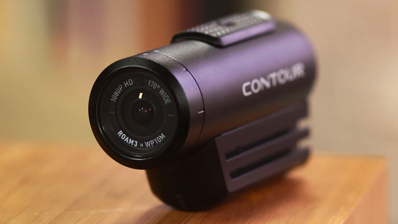 Video: Contour returns with the waterproof full-HD Roam3 action cam