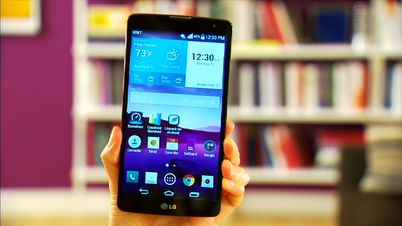 Video: LG's G Vista is a supersized phone without the super high price
