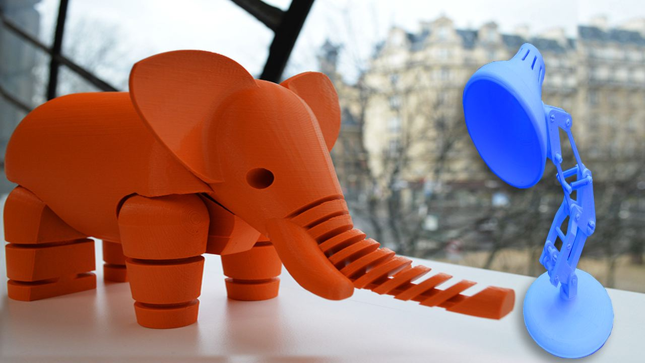 Video: 3D-printed projects
