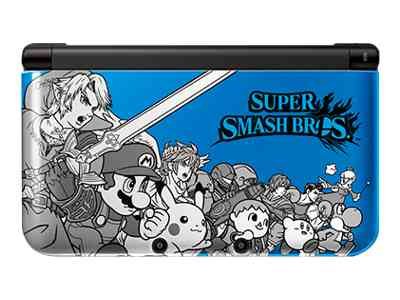 Nintendo 3DS XL (Blue) Super Smash Bros. Limited Edition