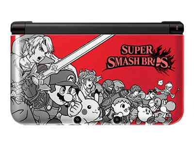 Nintendo 3DS XL (Red) Super Smash Bros. Limited Edition
