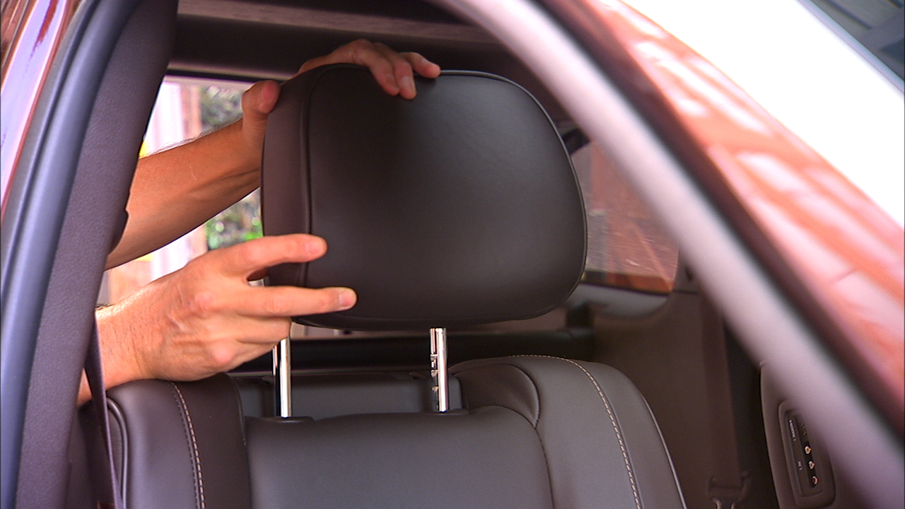 Video: Smarter Driver: Neck restraints and headrests explained