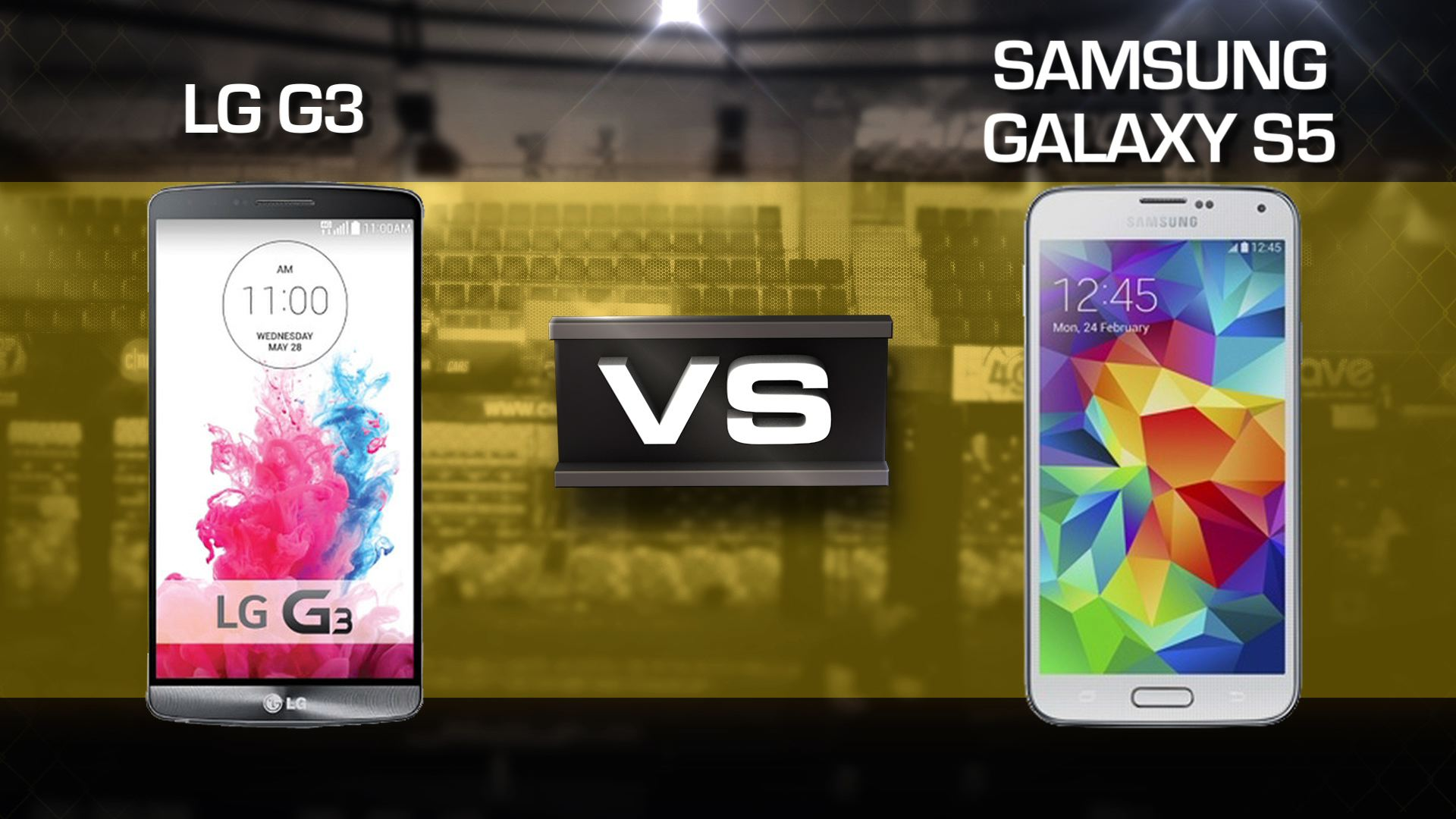 Video: LG G3 vs. Samsung Galaxy S5