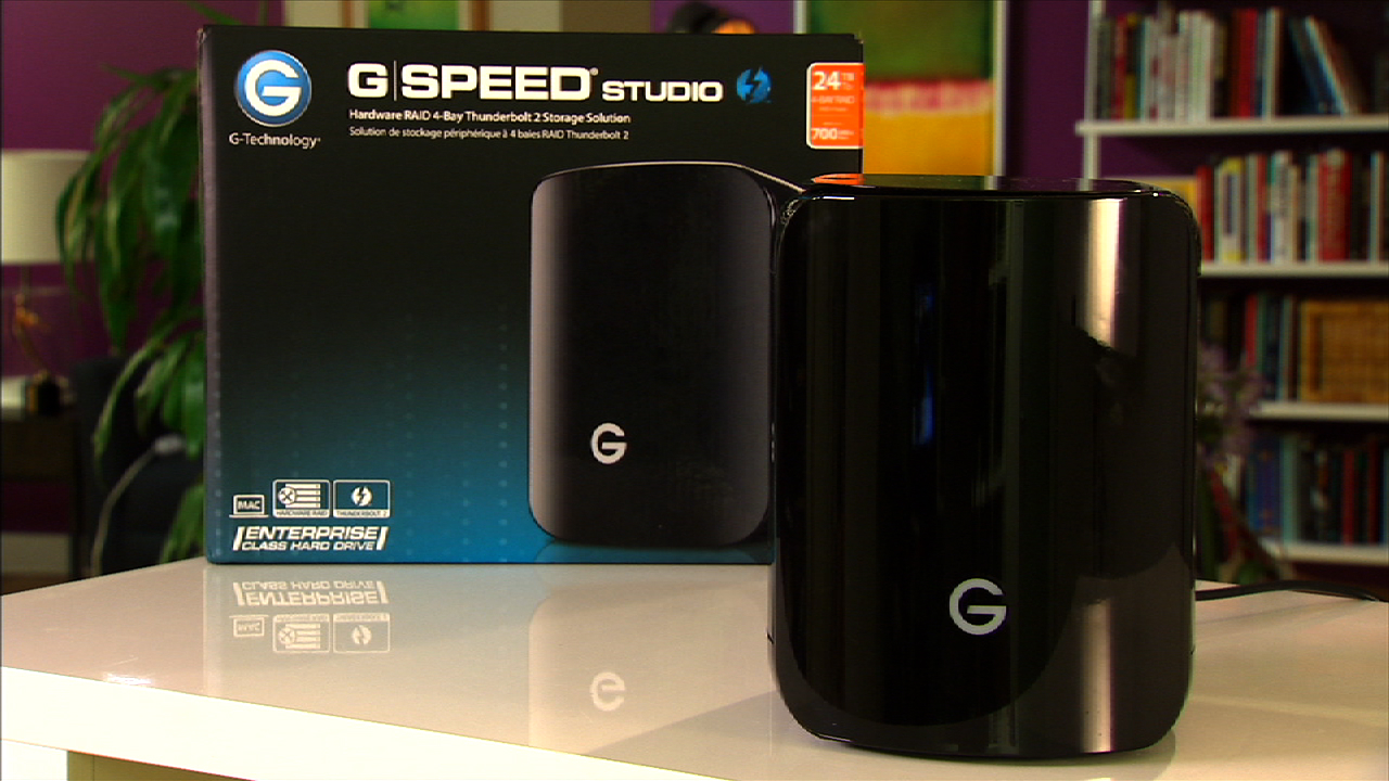 Video: The G-Tech G-Speed Studio R is a super fast Thunderbolt II RAID system.