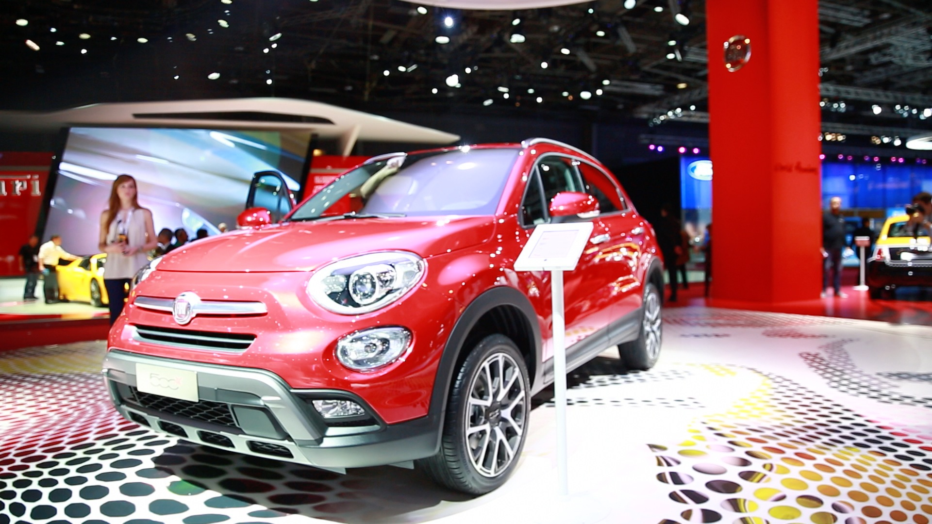 Video: The new Fiat 500x looks to extend the '500' brand