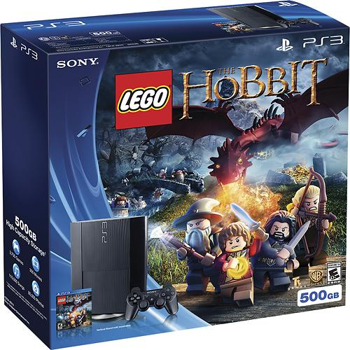 Sony PlayStation 3 Super Slim  LEGO The Hobbit Bundle