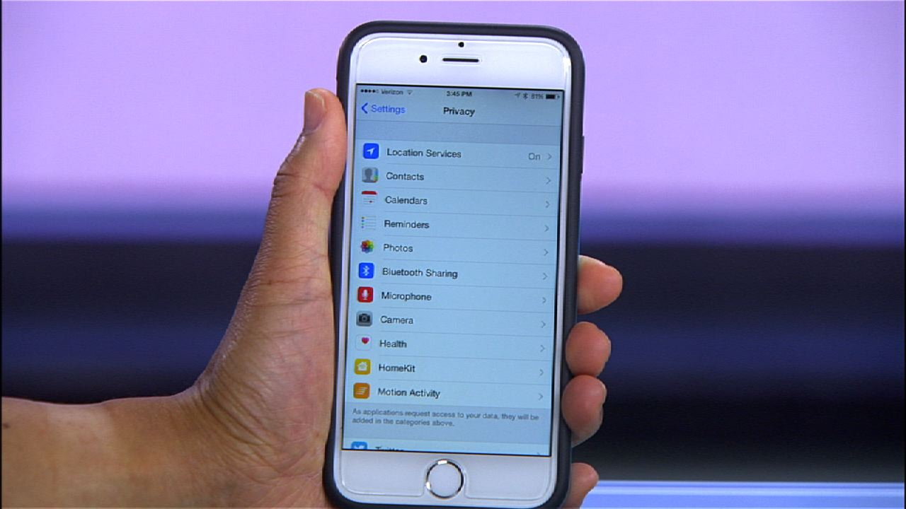 Video: How to adjust iOS8 privacy settings