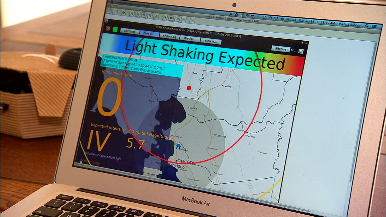 Video: Know an earthquake is about to hit before the shaking starts