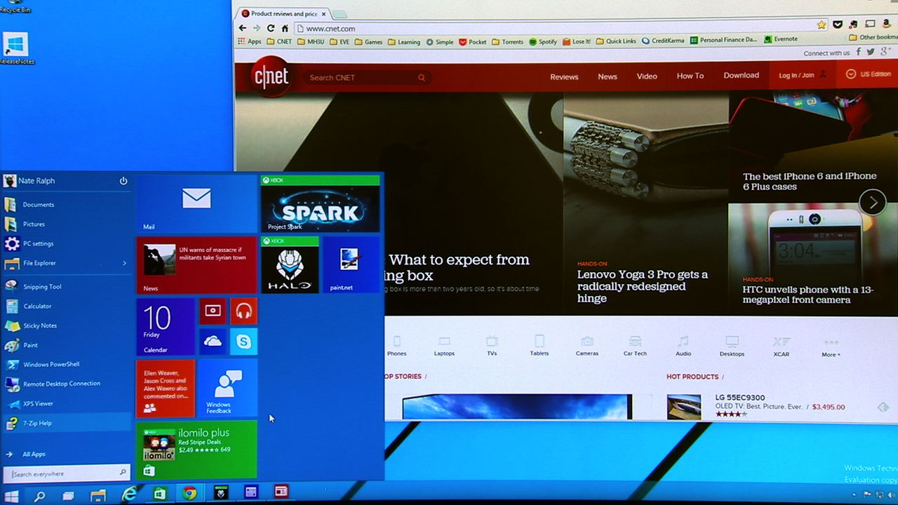 Video: Let's take a first look at the Windows 10 Technical Preview