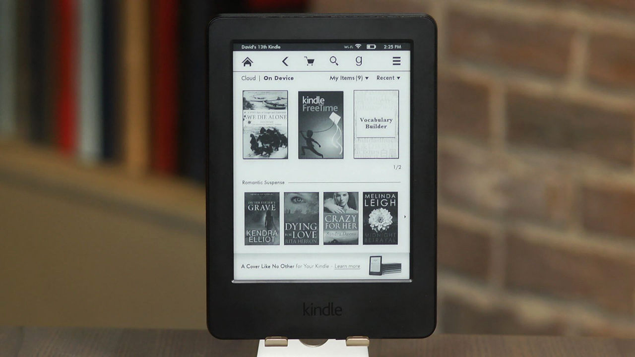 Video: Kindle (2014): Everything you want in an e-reader except a light
