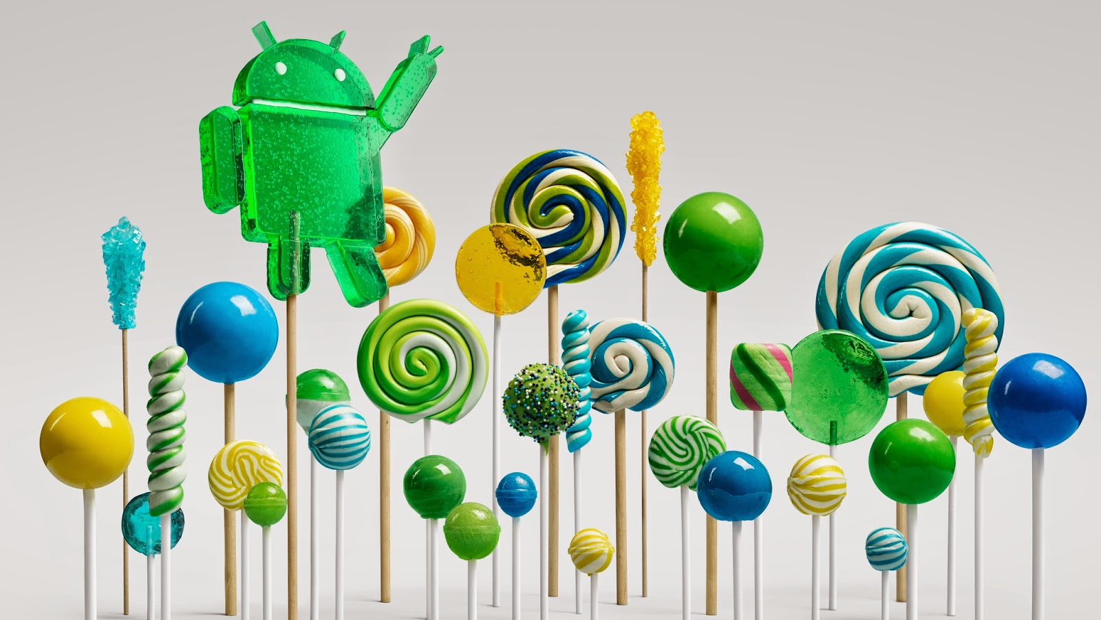 Android 5.0 Lollipop to