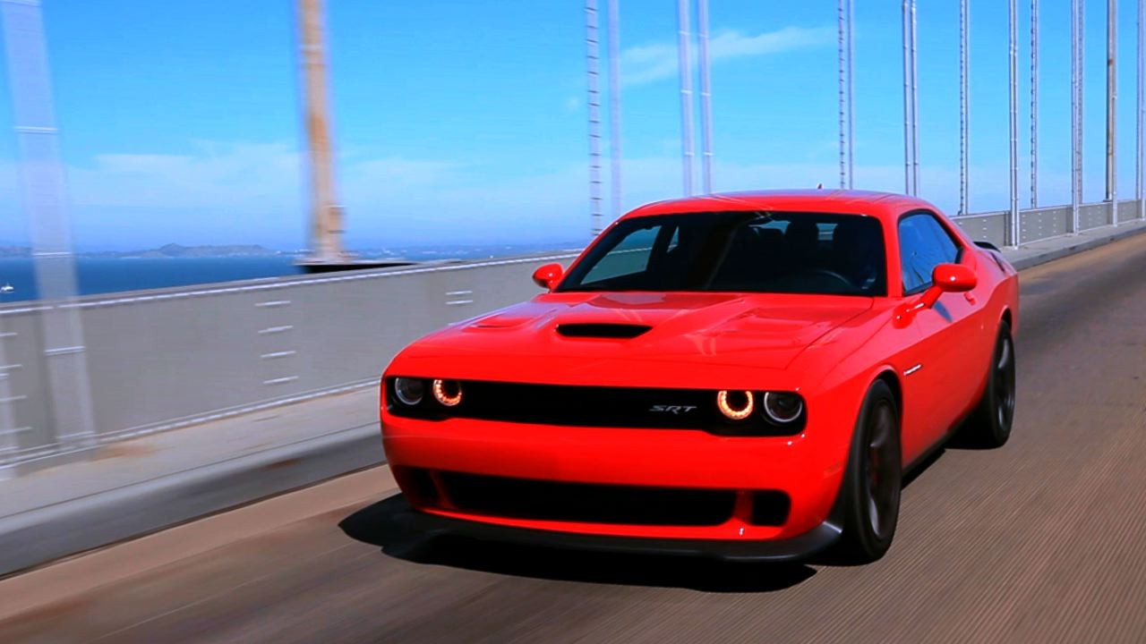 Video: The hellacious Dodge Challenger SRT Hellcat