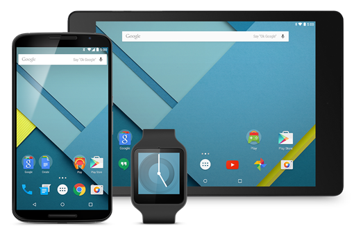 Android 5.0 Lollipop llega a mas dispositivos