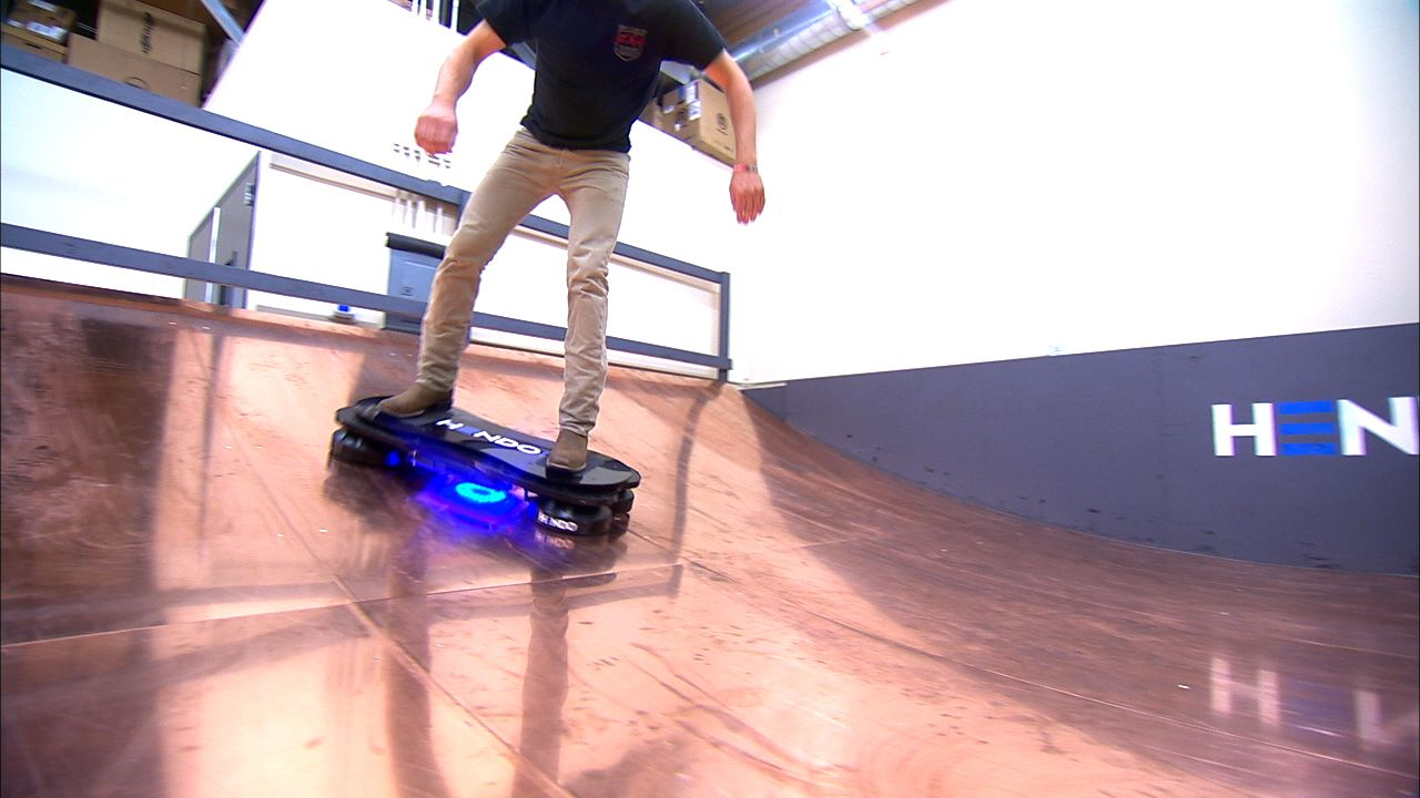Video: The hoverboard is now real and it may save us in an earthquake