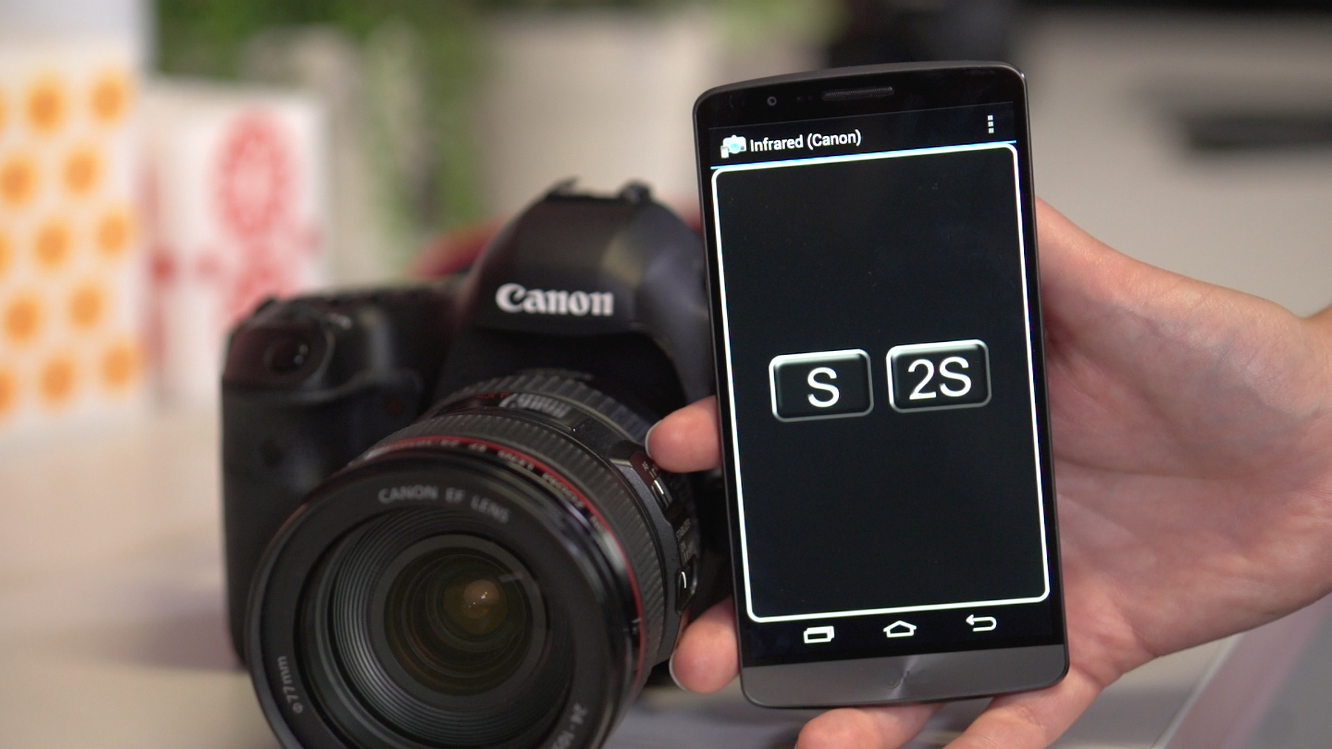 Video: Use your Android as a dSLR remote