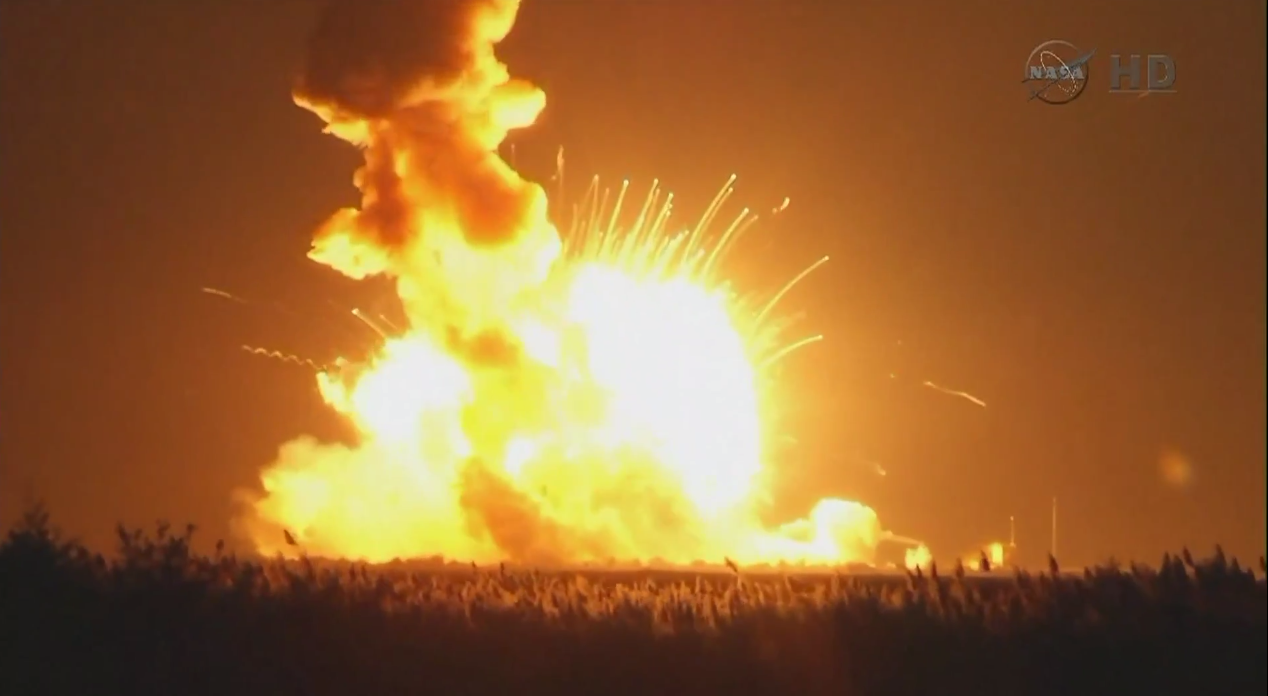 Video: Tomorrow Daily 077: The Antares rocket explosion, ferrofluid art, and hydrogel robot muscles