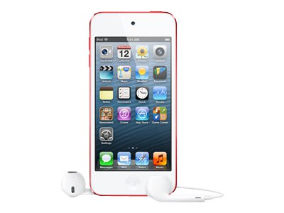 Apple iPod Touch (5th generation, 64GB, red)
