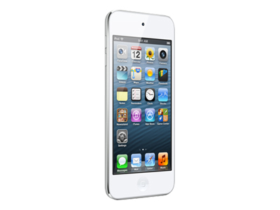 Apple iPod Touch (5th generation, 64GB, white/silver)