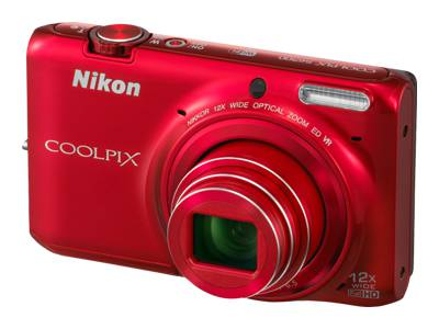 Nikon Coolpix S6500 (Red)
