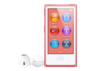 Apple iPod Nano (seventh generation, pink)
