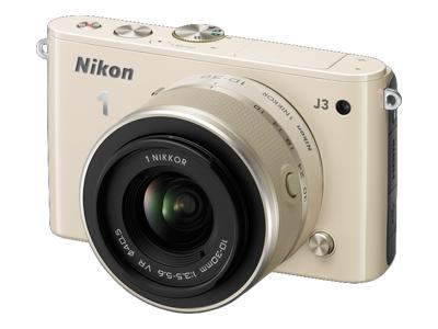 Nikon 1 J3 (with 10-30mm lens, Beige)