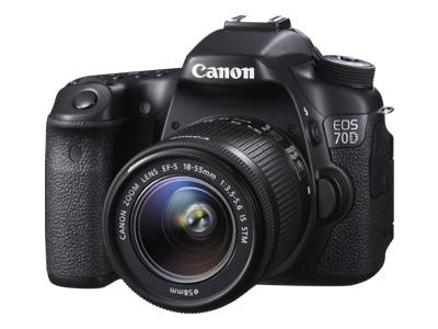 Canon EOS 70D (with 18-55mm STM and 70-300mm USM lenses)