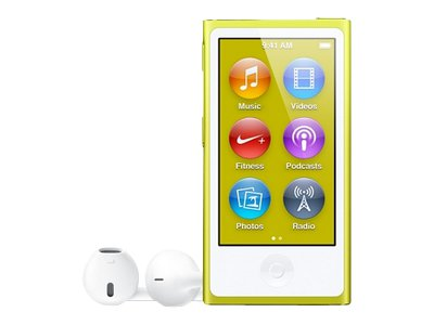 Apple iPod Nano (seventh generation, yellow)